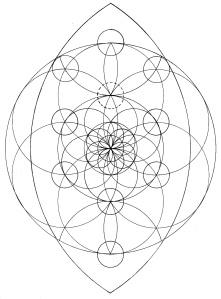 Triple circles tree 1