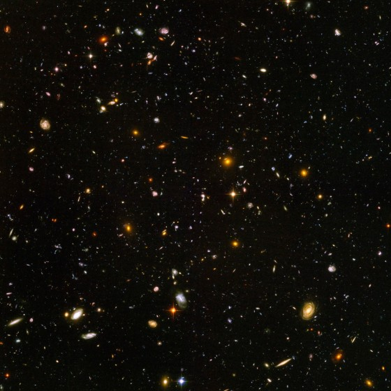 Deep Space countless galaxies - Hubble telescope