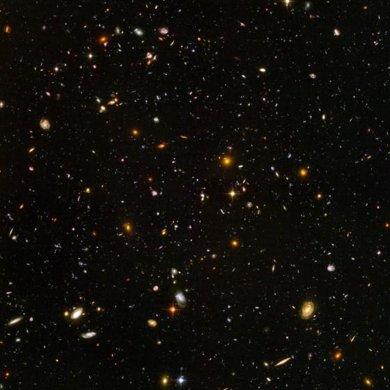 Deep Space countless galaxies - Hubble telescope