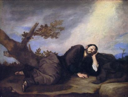 Jacob's Dream – El sueño de Jacob (1639) by José de Ribera, at the Museo del Prado, Madrid