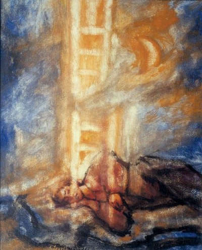 Jacob's ladder by Albert Huthusen